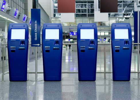 Airport Check-in Counter「Quick Check-In Counters at the airport」:スマホ壁紙(13)