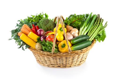 Basket「Vegetables Basket」:スマホ壁紙(1)
