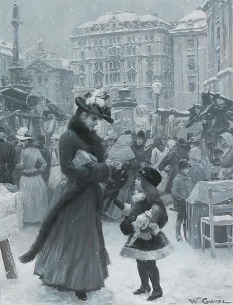 Art Nouveau「The Christmas Fair Am Hof」:写真・画像(6)[壁紙.com]