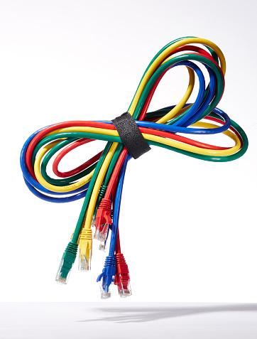 Computer Cable「Ethernet Bundle with Velcro」:スマホ壁紙(18)