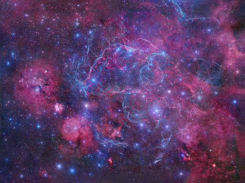 Supernova「The Vela Supernova Remnant」:スマホ壁紙(2)