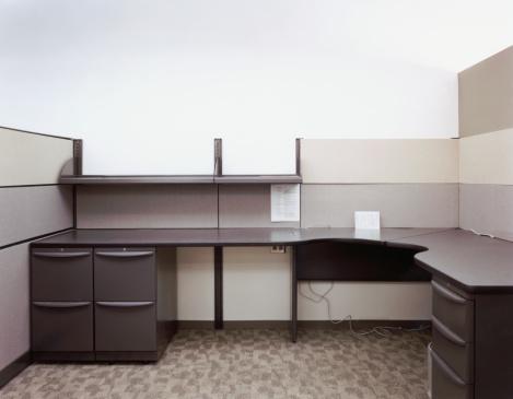 Drawer「Empty Office Cubicle」:スマホ壁紙(9)