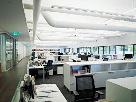 Business Strategy「Empty office」:スマホ壁紙(16)