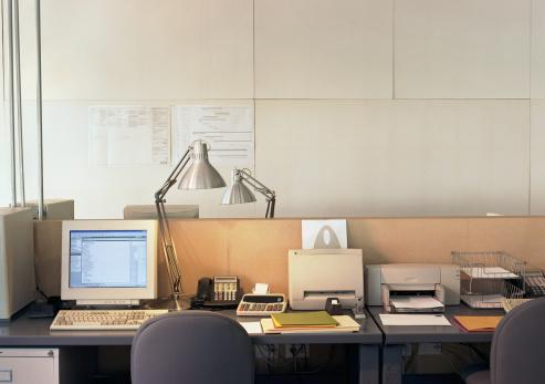 Corporate Business「Empty office」:スマホ壁紙(16)