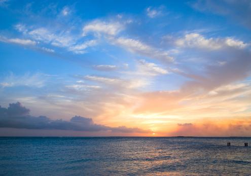 Sea「Tropical Sunset」:スマホ壁紙(10)