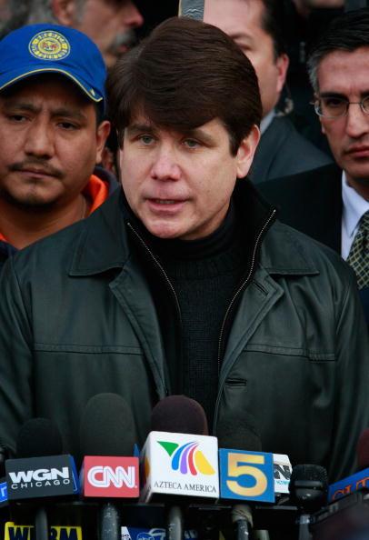 Scott Olson「FILE: Illinois Governor Arrested On Corruption Charges」:写真・画像(19)[壁紙.com]