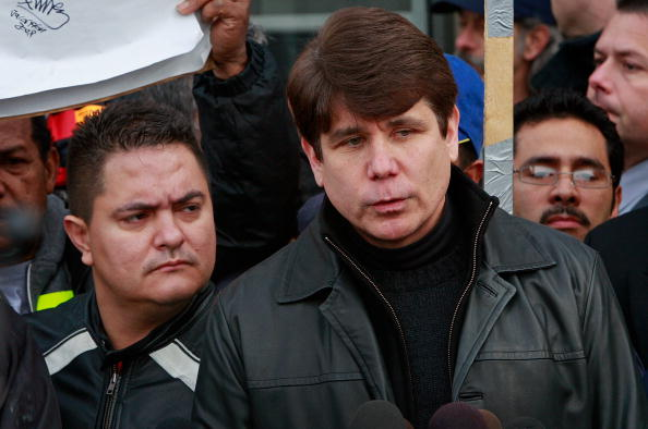 Scott Olson「FILE: Illinois Governor Arrested On Corruption Charges」:写真・画像(13)[壁紙.com]