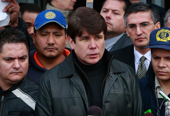 Scott Olson「FILE: Illinois Governor Arrested On Corruption Charges」:写真・画像(17)[壁紙.com]