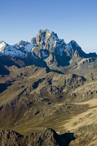 ケニア山「Snow on Mount Kenya」:スマホ壁紙(13)