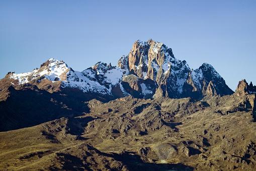 ケニア山「Snow on Mount Kenya」:スマホ壁紙(4)