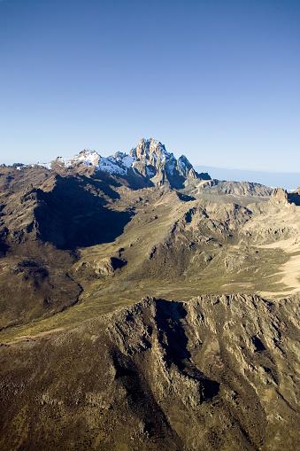 ケニア山「Snow on Mount Kenya」:スマホ壁紙(9)