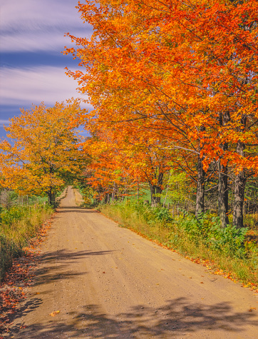 グリーン山脈「ニューイングランド地方の秋の国 road でバーモント」:スマホ壁紙(13)