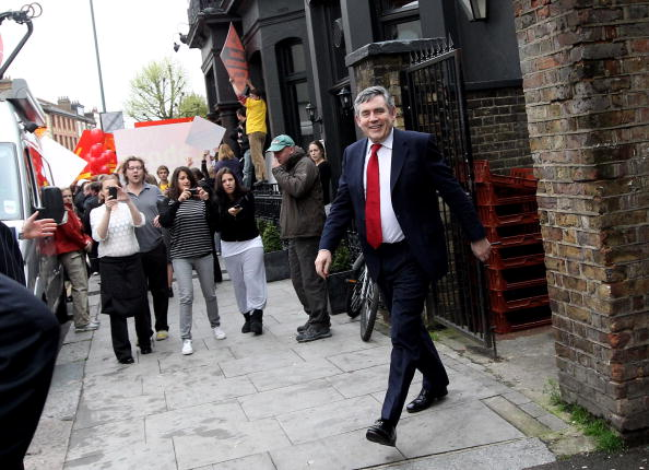 Dan Kitwood「Gordon Brown Campaigns in Constituencies Across London」:写真・画像(9)[壁紙.com]