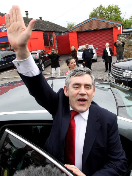 Dan Kitwood「Gordon Brown Campaigns in Constituencies Across London」:写真・画像(4)[壁紙.com]
