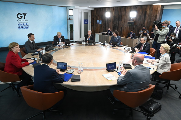 Finance and Economy「Buildup To June's G7 Summit In Carbis Bay」:写真・画像(11)[壁紙.com]