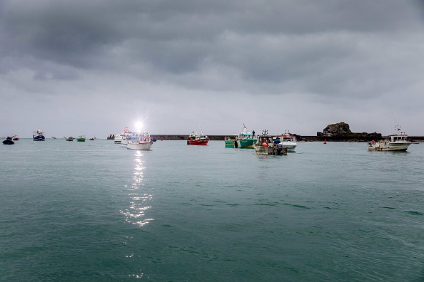 Fisherman「French Fishing Boats Blockade Jersey Harbour In Fishing Rights Row」:写真・画像(17)[壁紙.com]