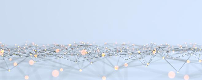 Fiber「Big data Network Abstract concept」:スマホ壁紙(19)