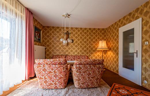 Brown「Living room 70's Style」:スマホ壁紙(11)