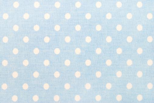 1980-1989「white polka dots on blue」:スマホ壁紙(5)