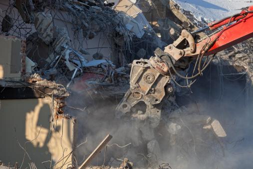 Demolishing「Demolition work」:スマホ壁紙(16)