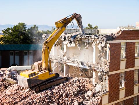 Construction Vehicle「Demolition」:スマホ壁紙(6)