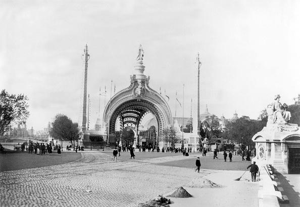 1900「monumental gate, main entrance at World Fair in Paris in 1900」:写真・画像(18)[壁紙.com]