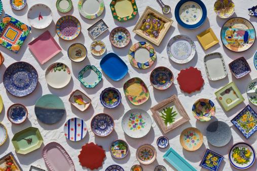 Souvenir「Portugal, Lagos, Varieties of ceramic plates」:スマホ壁紙(3)