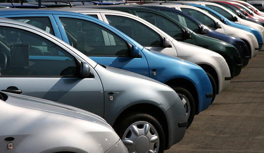 並んでいる「使用するお車」:スマホ壁紙(7)