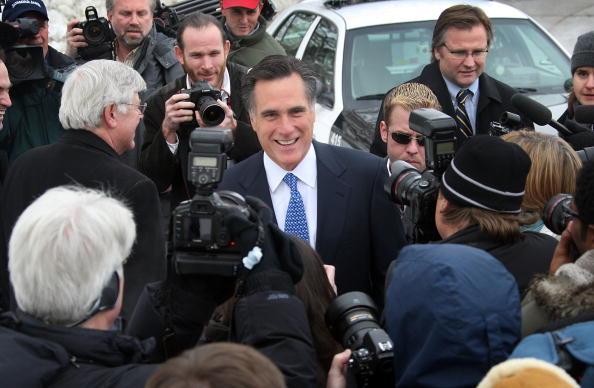 Scott Olson「Republican Presidential Candidates Debate In Iowa」:写真・画像(0)[壁紙.com]
