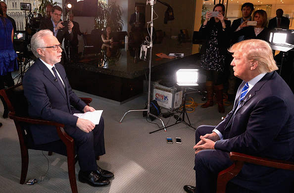 Interview - Event「Presidential Candidate Donald Trump Interviewed By Wolf Blitzer For CNN」:写真・画像(6)[壁紙.com]
