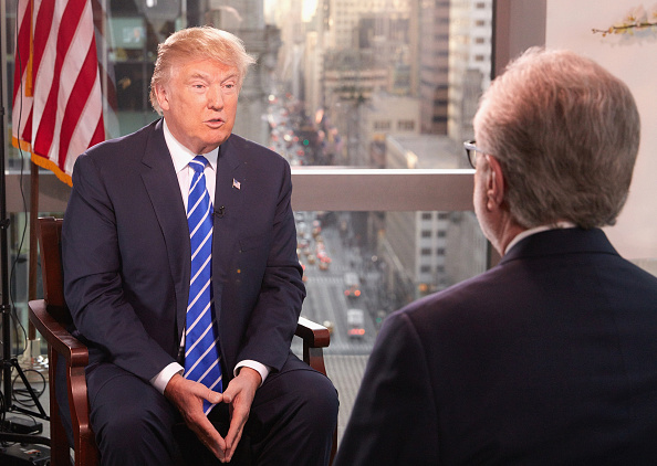 Interview - Event「Presidential Candidate Donald Trump Interviewed By Wolf Blitzer For CNN」:写真・画像(11)[壁紙.com]