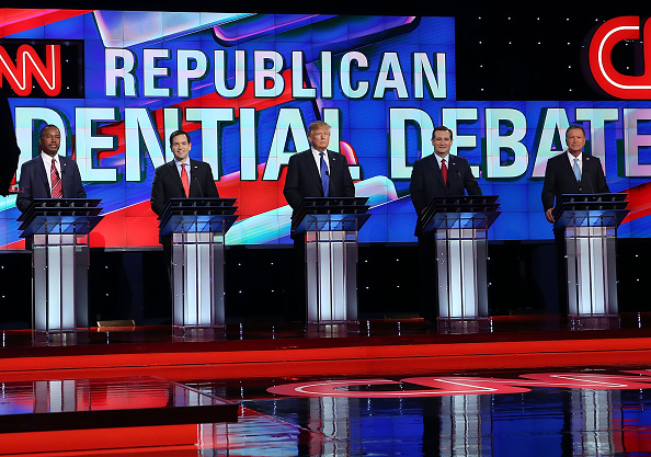 US Republican Party「Republican Presidential Candidates Debate In Houston, Texas」:写真・画像(17)[壁紙.com]