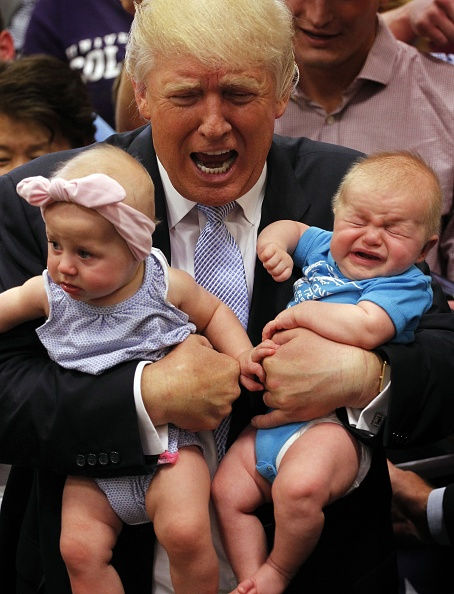 Baby - Human Age「Donald Trump Holds Town Hall In Colorado Springs」:写真・画像(7)[壁紙.com]