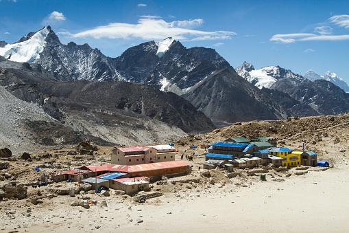 Sagarmāthā National Park「Mountain Village of Gorak Shep」:スマホ壁紙(17)