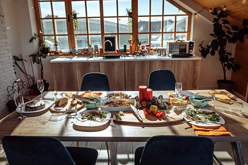 Party - Social Event「Plate with leftovers after Christmas lunch」:スマホ壁紙(15)