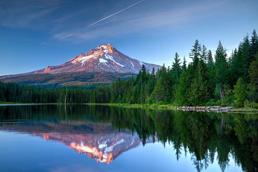 Volcanic Landscape「Mount Hood, Oregon」:スマホ壁紙(0)