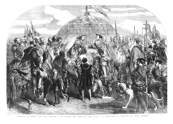 Calais「Meeting Of Henry Viii And Francis I At Ardres - The Field Of The Cloth Of Gold」:写真・画像(8)[壁紙.com]