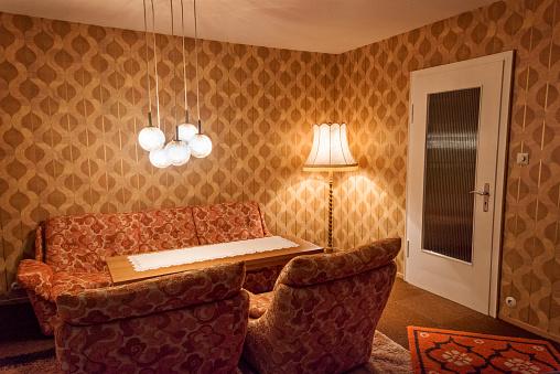 Wallpaper - Decor「Orange Living room」:スマホ壁紙(11)