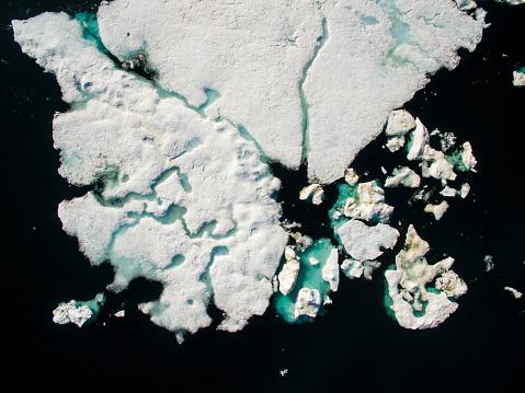 Pack Ice「Sea Ice in Wager Bay, Ukkusiksalik National Park, Nunavut, Canada」:スマホ壁紙(4)