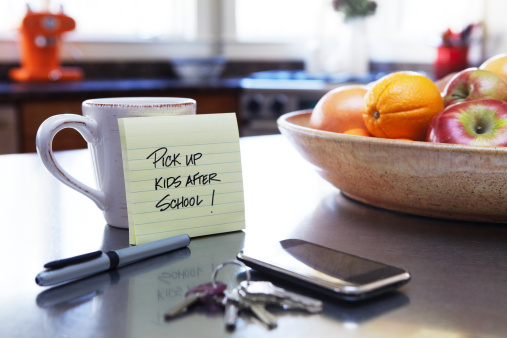 Reminder「Note on Kitchen Counter」:スマホ壁紙(4)