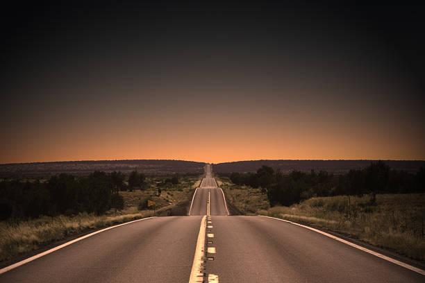 Highway to the Sunset:スマホ壁紙(壁紙.com)