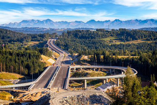Road Construction「Highway to the Tatra Mountains, Poland」:スマホ壁紙(19)