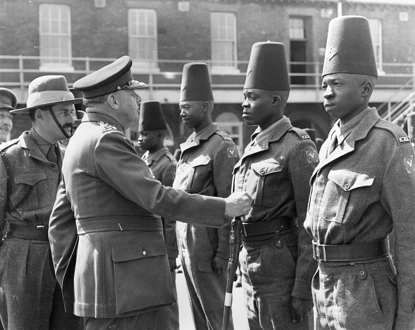 Black History in the UK「African Troops」:写真・画像(9)[壁紙.com]