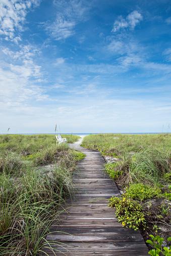 Boardwalk「Florida, Longboat Key, Whitney Beach, Gulf Of Mexico」:スマホ壁紙(9)