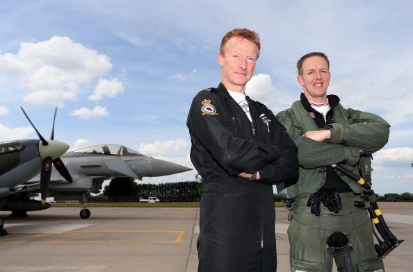 Stringer「Unveiling Of Commemorative D-Day Eurofighter Typhoon Jet」:写真・画像(11)[壁紙.com]