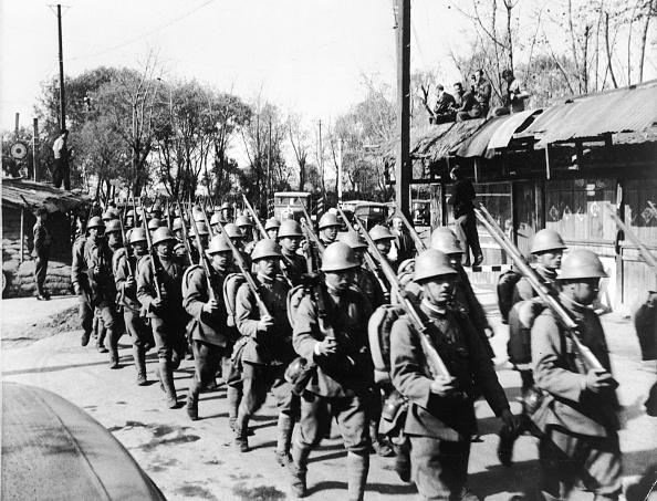 In A Row「Japanese Troops」:写真・画像(7)[壁紙.com]
