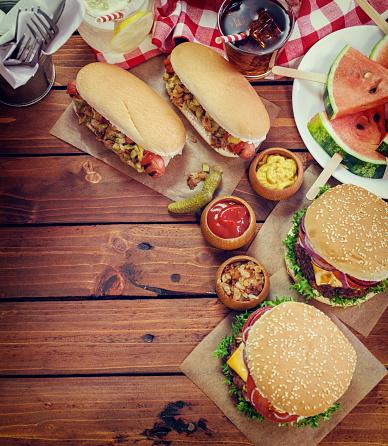 Cheeseburger「4th of July Picnic」:スマホ壁紙(15)