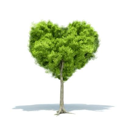 Heart「Tree Love」:スマホ壁紙(5)