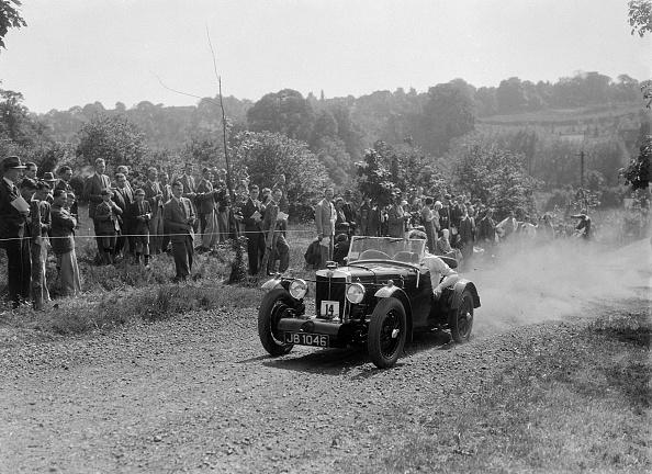 Recreational Pursuit「Prototype MG K3, Bugatti Owners Club Hill Climb, Chalfont St Peter, Buckinghamshire, 1935」:写真・画像(15)[壁紙.com]