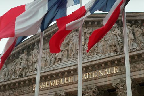 1980-1989「Assemblee Nationale Building in Paris」:スマホ壁紙(4)